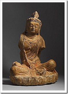 Tang Buddhist statue