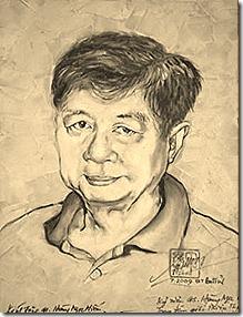 drawing of Hoang Ngoc Hien