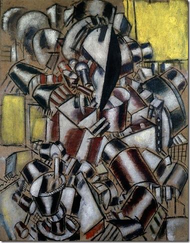 Léger-Le fumeur 1914