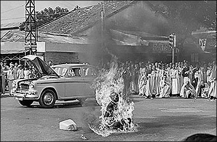 Quang Duc immolation