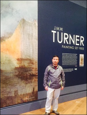 NL in front of Turner Panel