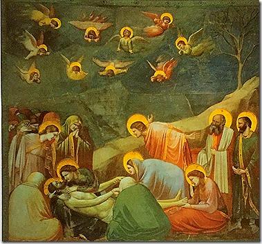 Lamentation of Christ - Giotto