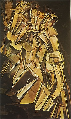 Marcel Duchamp - Nude Descends a Staircase - 1915