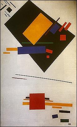 Suprematism - Kandinsky 1915