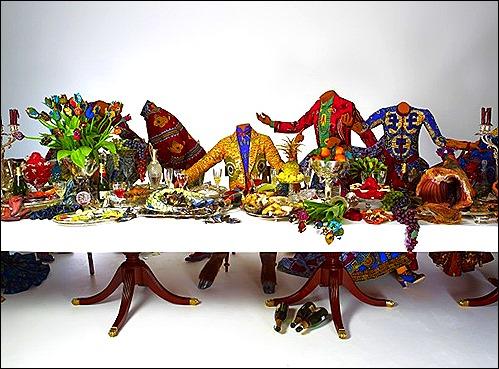Yinka Shonibre - Last Supper