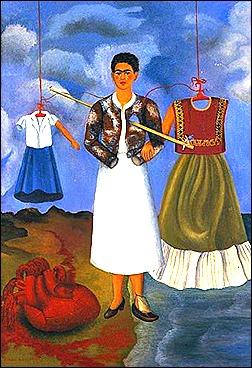 memory-the-heart - frida kahlo - 1937