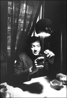 julio cortazar with shadow