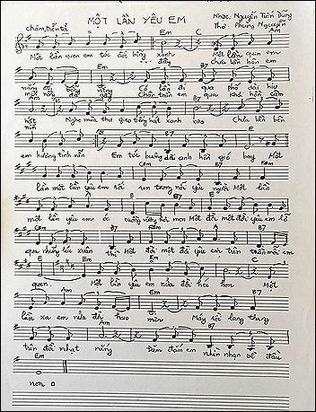 phung nguyen love song