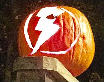 Pumpkin with Flash design