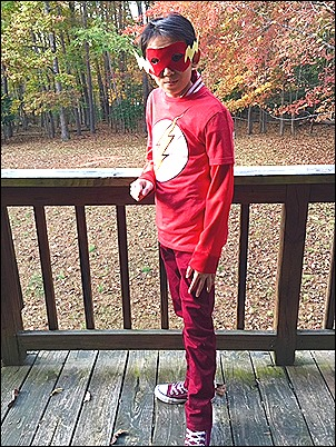 The Flash on deck