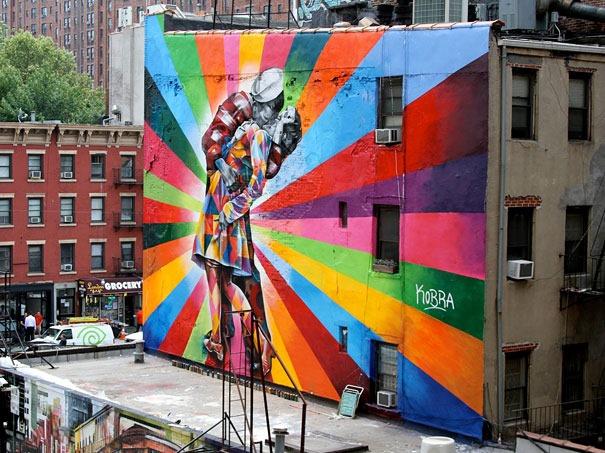Pic 10 ở newyork by Eduardo Kobra