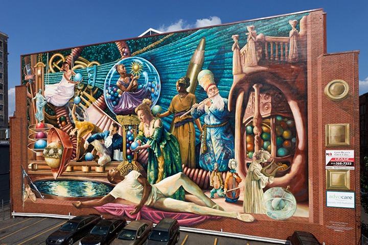 Pic 9 Meg Saligman radiant mural Phiiladelphia Muses.