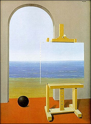 the-human-condition-1935 rene magritte
