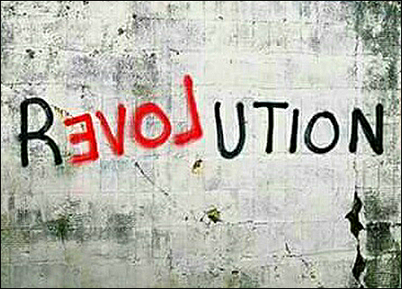 revolution graffiti