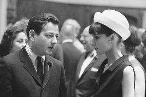 André Previn với Audrey Hepburn