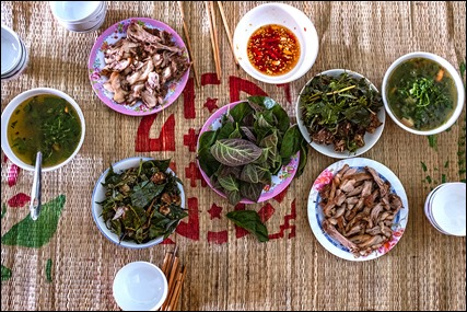 Cat meat dishes - Krong Buk