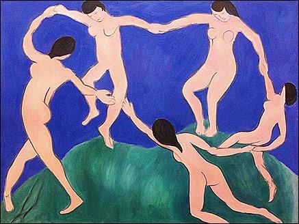 Dance, I, Matisse, 1909