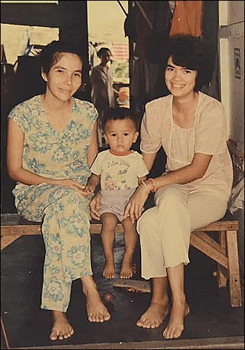 Ocean Vuong, mother and grandma