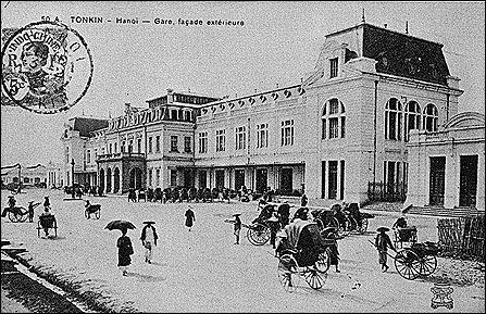 Nhà Ga Hà nội circa 1902