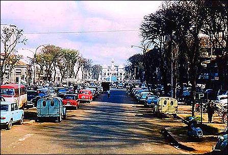 Old saigon street