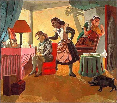 Paula Rego, The Maid