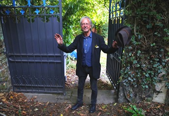 Peter Handke - Chaville near Paris - after Nobel announcement
