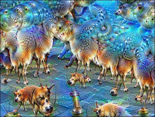Pic 5 Bức tranh chó