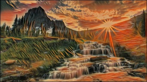 pic 6 Tranh phong cảnh của Deep Dream