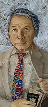 Nguyen Quynh self-portrait