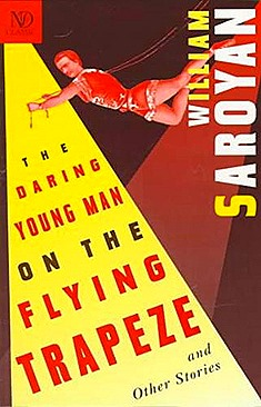 Daring young Man Flying Trapeze