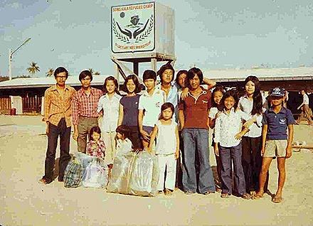 Songkhla - Thai Refugee Camp -1983