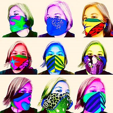 Warhol Selfie - COVID-19 Mask