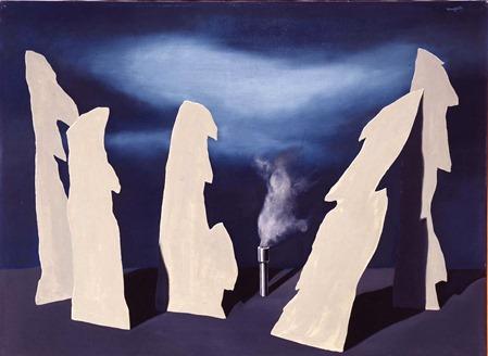 Rene Magritte - Le secret du cortege