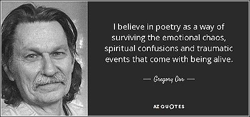 Gregory Orr portrait