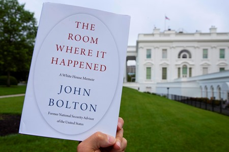 Bolton book with WH background