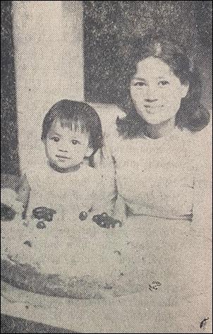 Túy Hồng và con gái
