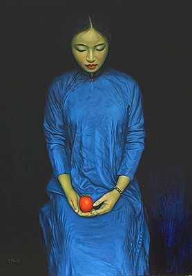 Girl-with-red-fruit-90x120