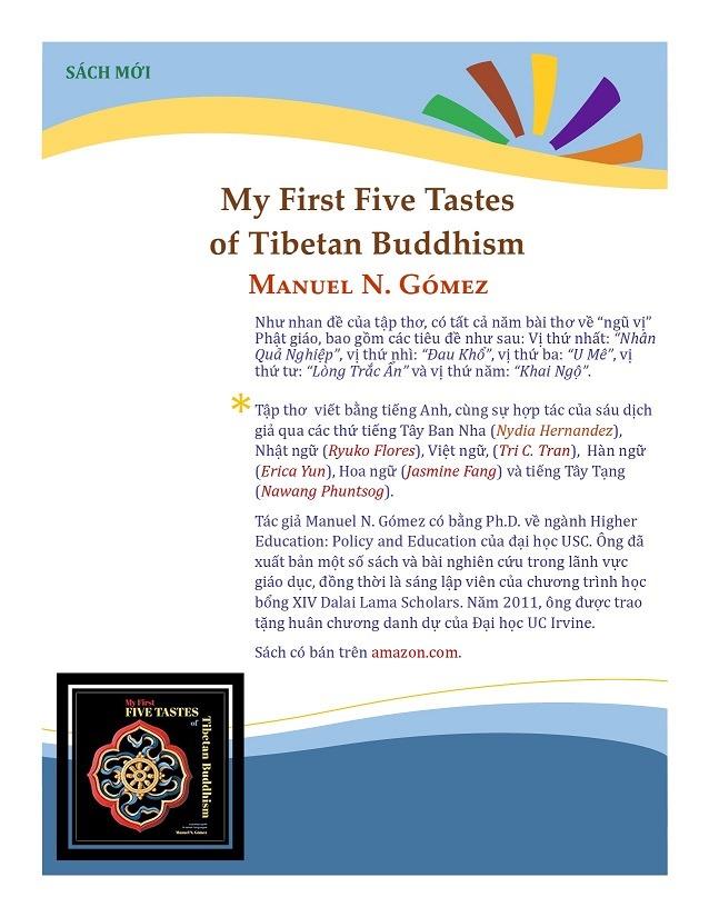 FLIER-MY FIRST FIVE TASTES