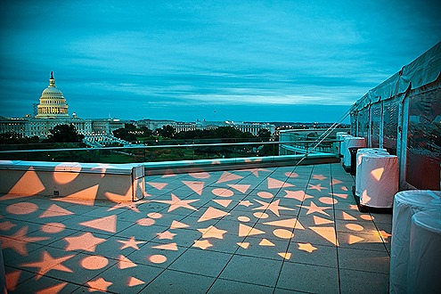 101 Constitution Ave Roof Terrace