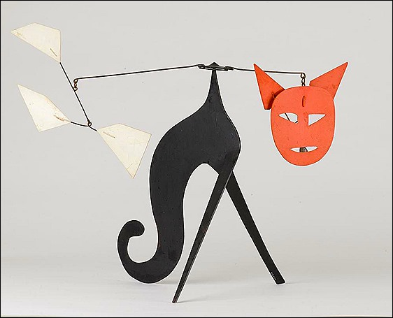 Calder Cat Mobile 3 - 1966