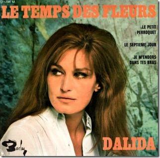 Dalida-LeTempsDesFleurs