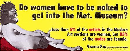 Guerrilla Girls Odalisque
