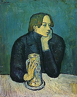 Pablo-Picasso_Portrait-De-Jaime-Sabartes_Le-Bock_1901