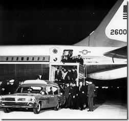 JFK return