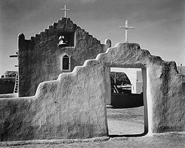 Taos Church Ansel Adams