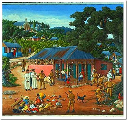 Haiti 2007Rara-painting