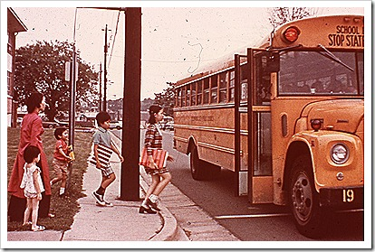 Dinh children go to summer school June 1975