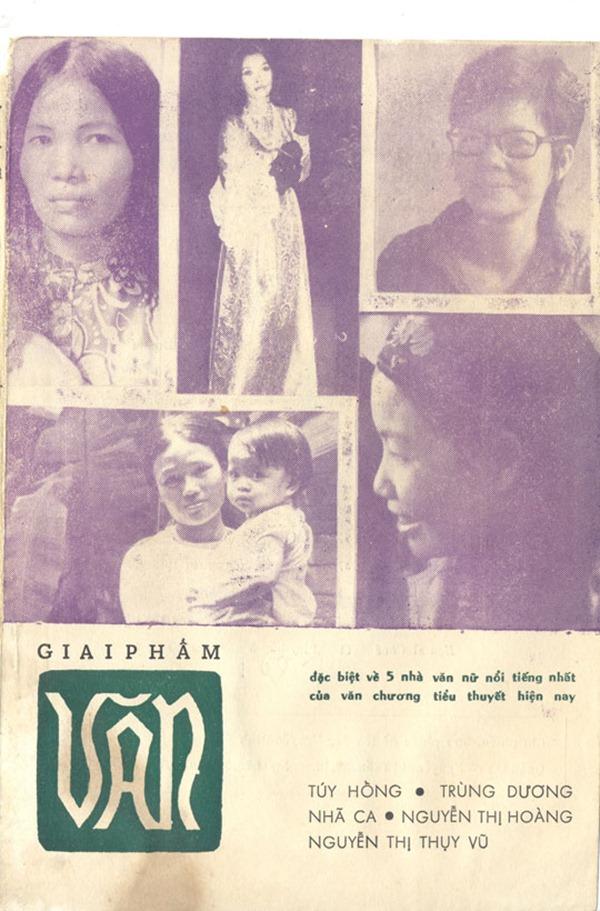 Bìa Giai Phẩm Văn - 5 Nhà Văn Nữ