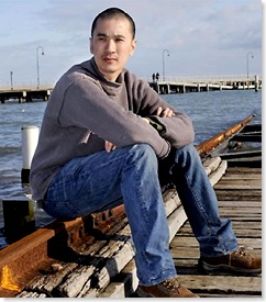 Nam Le at harbor
