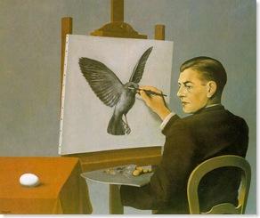 magritte paint bird